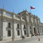 Presidentpalatset. Santiago