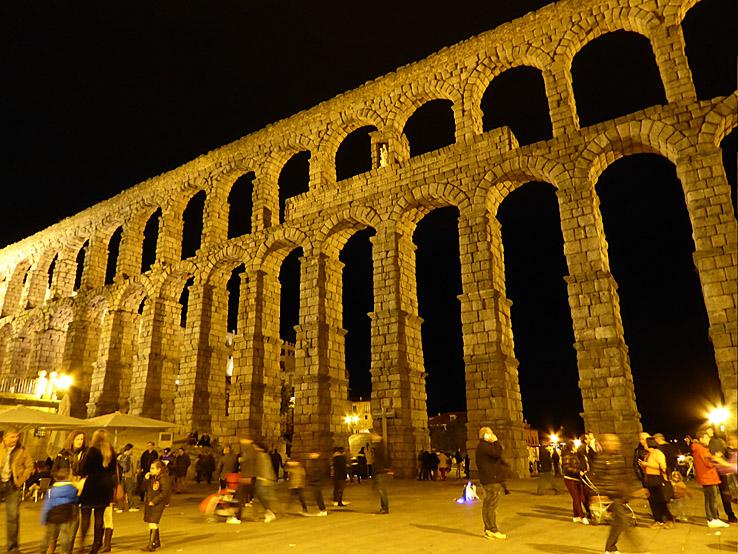 Akvedukten. Segovia